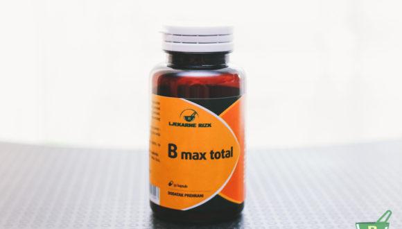 B MAX TOTAL (vitamini B kompleksa) – ANTISTRES FORMULA