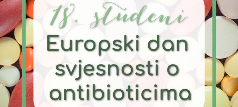 Europski dan svjesnosti o antibioticima!